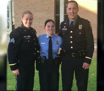 Woman rescued by cop as a child becomes Galveston police officer