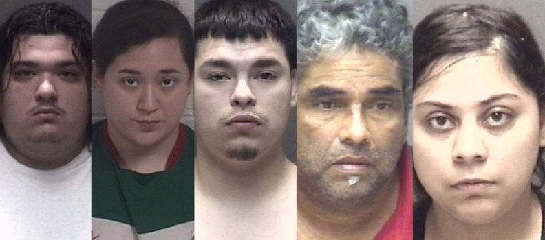 5 people arrested after drugs and weapons recovered during 3 separate busts in Galveston